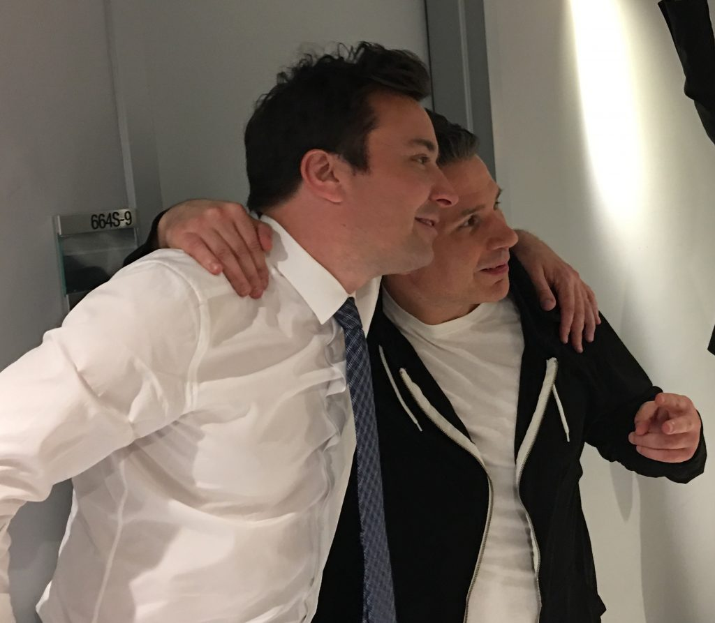 Mike and Jimmy Fallon